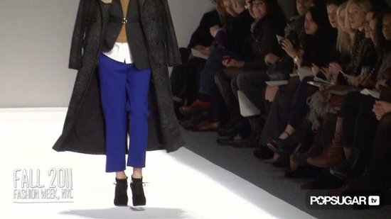 Yigal Azrouël at Fall 2011 New York Fashion Week