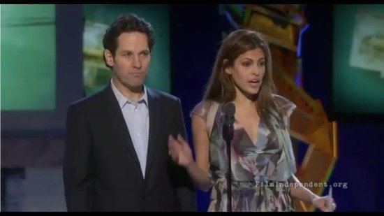 Video: Why Did Rosario Dawson Grab Paul Rudd's Crotch?