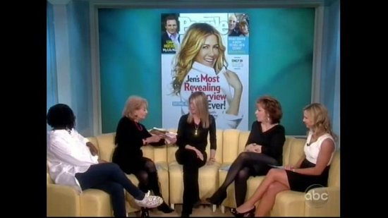 "Video: Jennifer Aniston Talks About Her ""Most Revealing Interview Ever"" on The View"