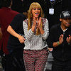 Beyonc Wearing Printed Top and Pants
