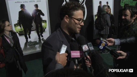 Video: Seth Rogen Says Fiancée Thought He Was a D-Bag