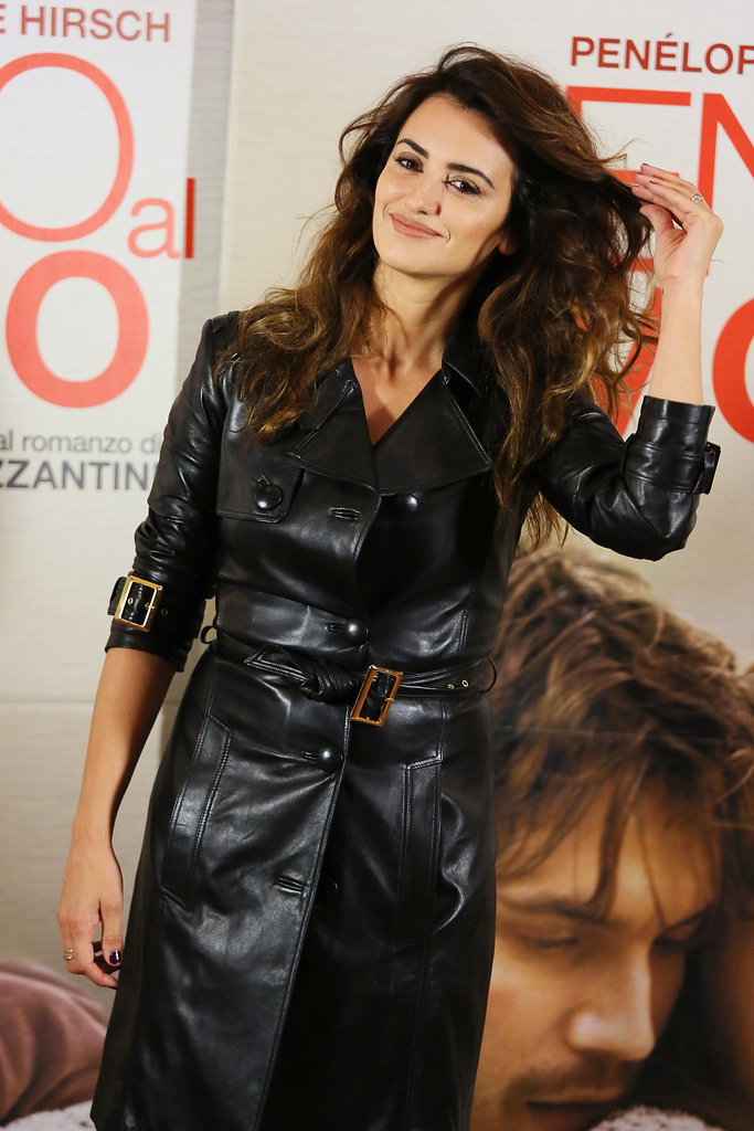 Penelope Cruz did press for Twice Born in Rome.