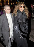 J Lo and Casper Cuddled Close in Icy Denmark