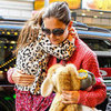 Katie Holmes With Suri Cruise at Broadway Theater | Pictures