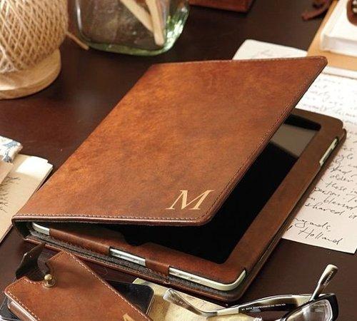 Saddle Leather Tablet Case