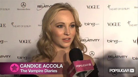 Video: Vampire Diaries Star Candice Accola Loves Playing a Kick Ass Bloodsucker!