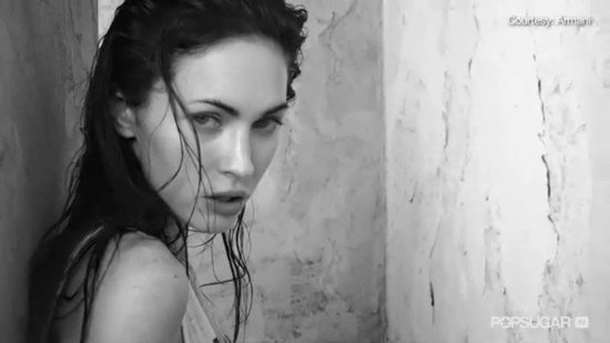 Video: Megan Fox's Full Stripped-Down Armani Underwear Ad Revealed!