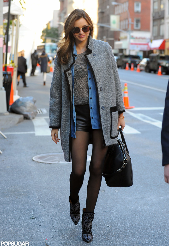 Miranda Kerr headed to rehearsals.