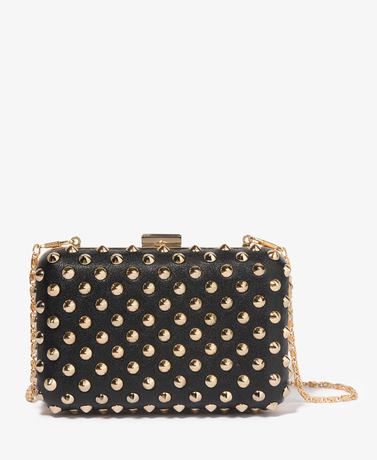 A night out calls for a cute clutch, and this Forever 21 Studded Clutch ($27) happens to be fun, edgy, and at a great price.