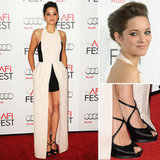 Marion Cotillard Gets Leggy in Christian Dior at the AFI Fest