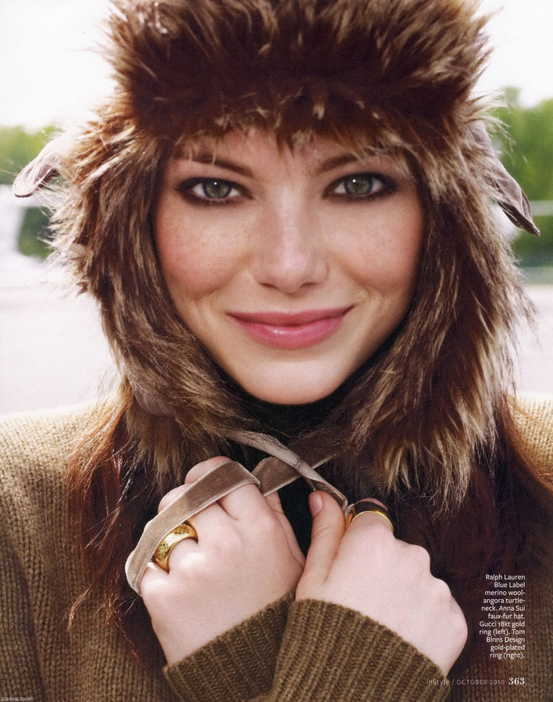 InStyle Magazine, October 2010