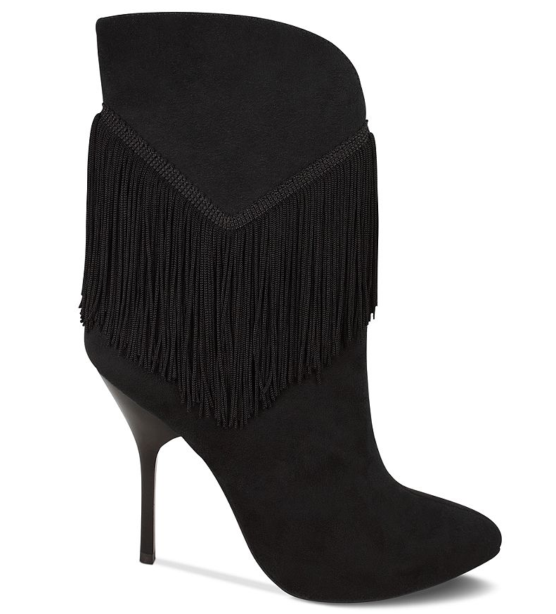 The finer fringe, plus the stiletto heel on these Nina Alette Fringe Booties ($119) add up to a statement boot that's ready for evenings, too.