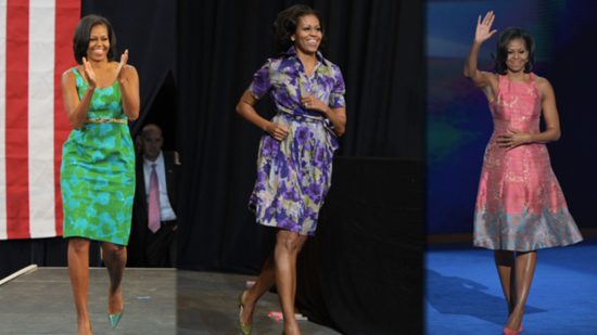 See Some of Michelle Obama's Best Looks on the Campaign Trail!
