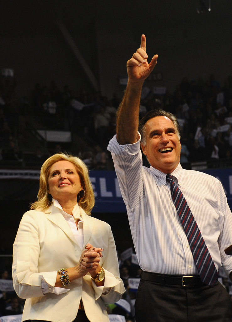 Mitt and Ann thanked their fans for support.