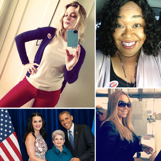 Celebrity Women Tweet Election: From Voting to Obama Win
