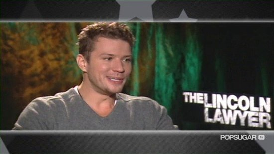 Video: Ryan Phillippe on His Kids Making Him Cry and Playing a Villain in The Lincoln Lawyer