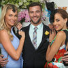 Jennifer Hawkins, Kris Smith, Rebecca Judd at Melbourne Cup