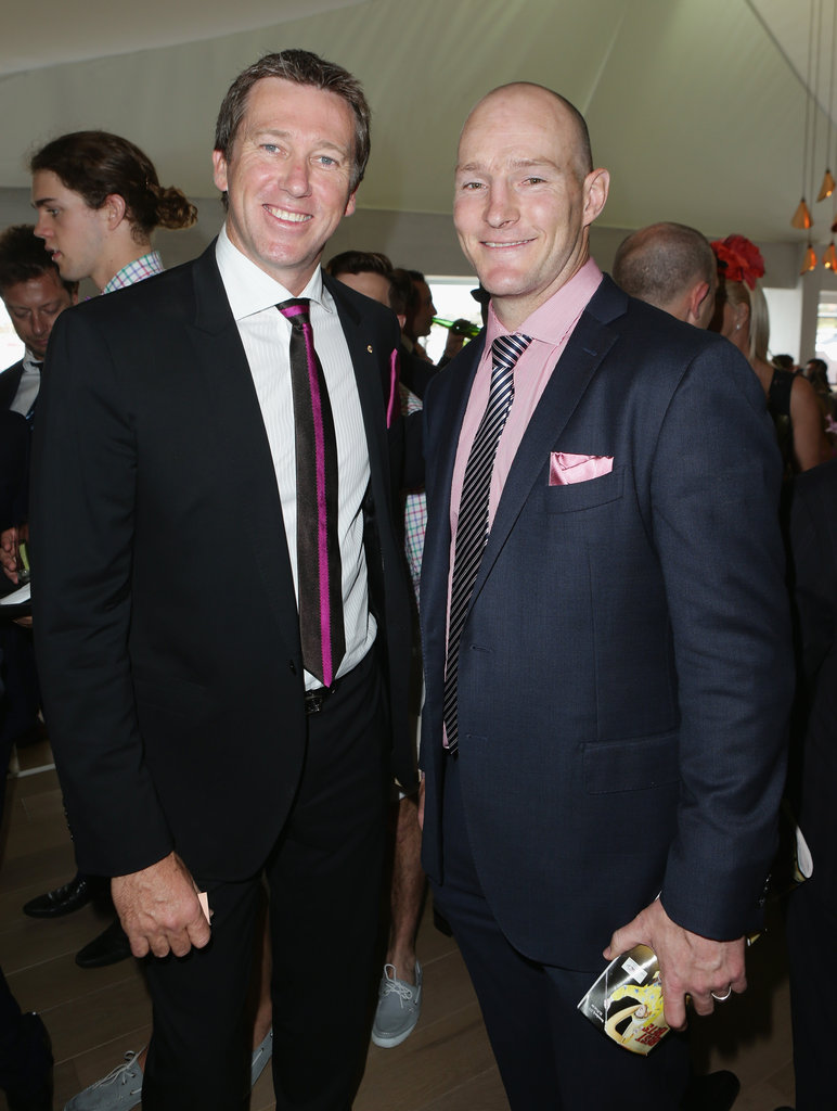Glenn McGrath and Stirling Mortlock