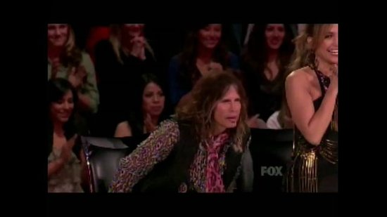 Stevie Wonder Sings Happy Birthday to Steven Tyler on American Idol