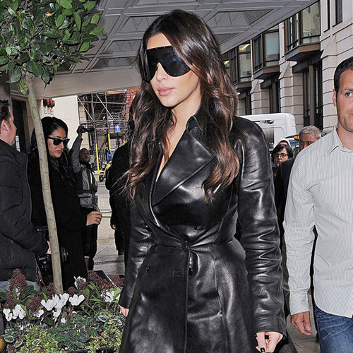 Black Leather Trench Coats (Celebrity Pictures and Shopping)