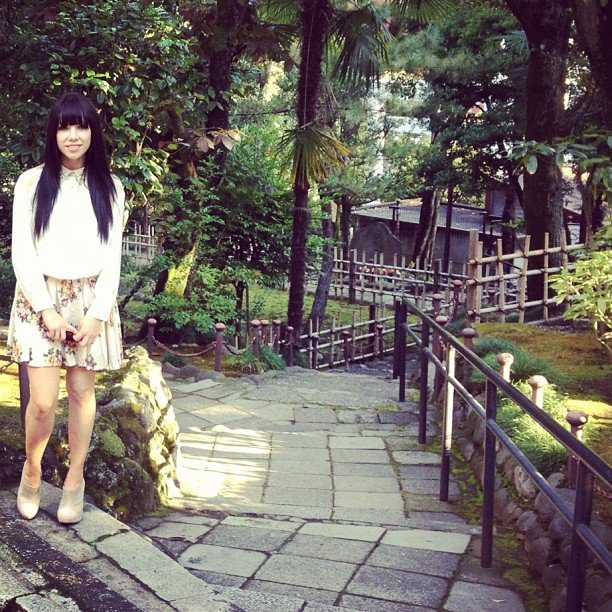 Carly Rae Jepsen enjoyed the great outdoors. Source: Instagram user carlyraejepsen