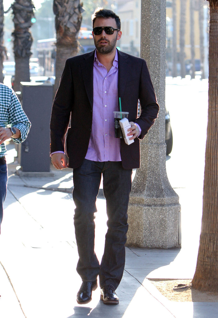 Ben Affleck spent time out in LA.