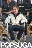 Ryan Gosling took a break while on the LA set of Drive in October 2010.