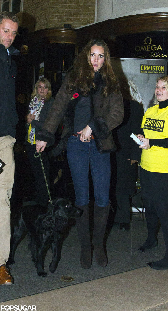 Kate Middleton brought her dog, Lupo, to a charity event.