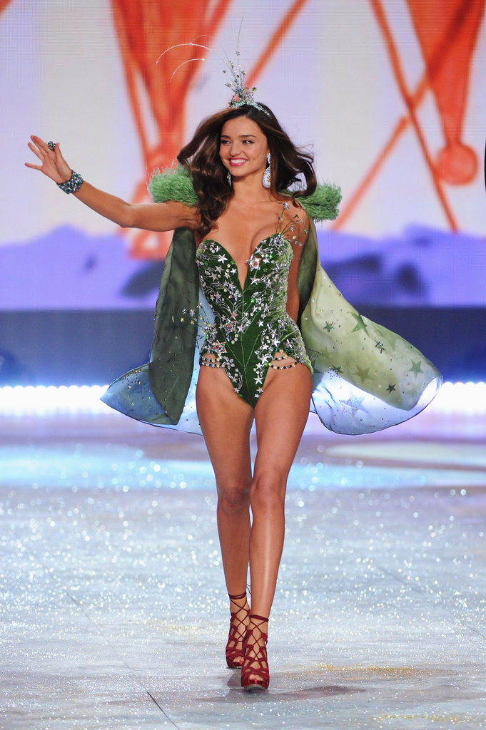 Miranda Kerr walked in the Victoria's Secret Fashion Show.