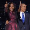 Michelle Obama Election Night Outfit 2012 | Video