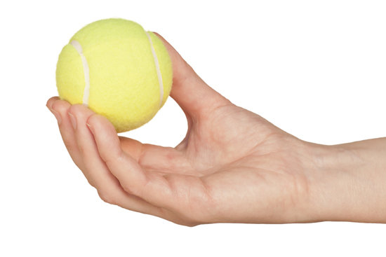 tennis ball question A tennis player receives a shot with the ball (00600 kg) traveling horizontally at 520 m/s and returns the shot with the balltraveling horizontally at 380 m/s in.