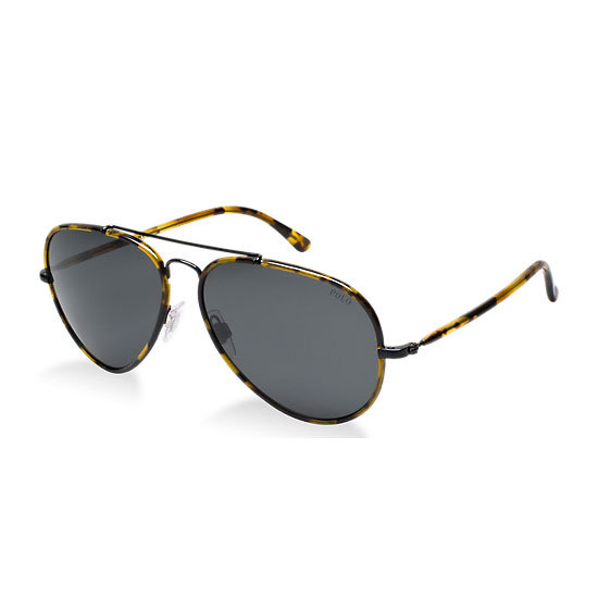 Sunglasses, $325.95, Polo by Ralph Lauren at Sunglass Hut. Ph: 1800 556 926