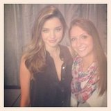 Source: Instagram user mirandakerrverified