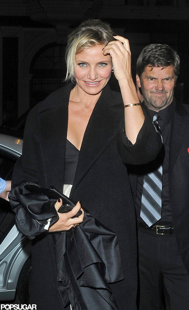 Cameron Diaz was out in London to celebrate the opening of her new movie Gambit