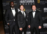 Ato Essandoh, Kyle Schmid and Kevin Ryan got together for a photo.