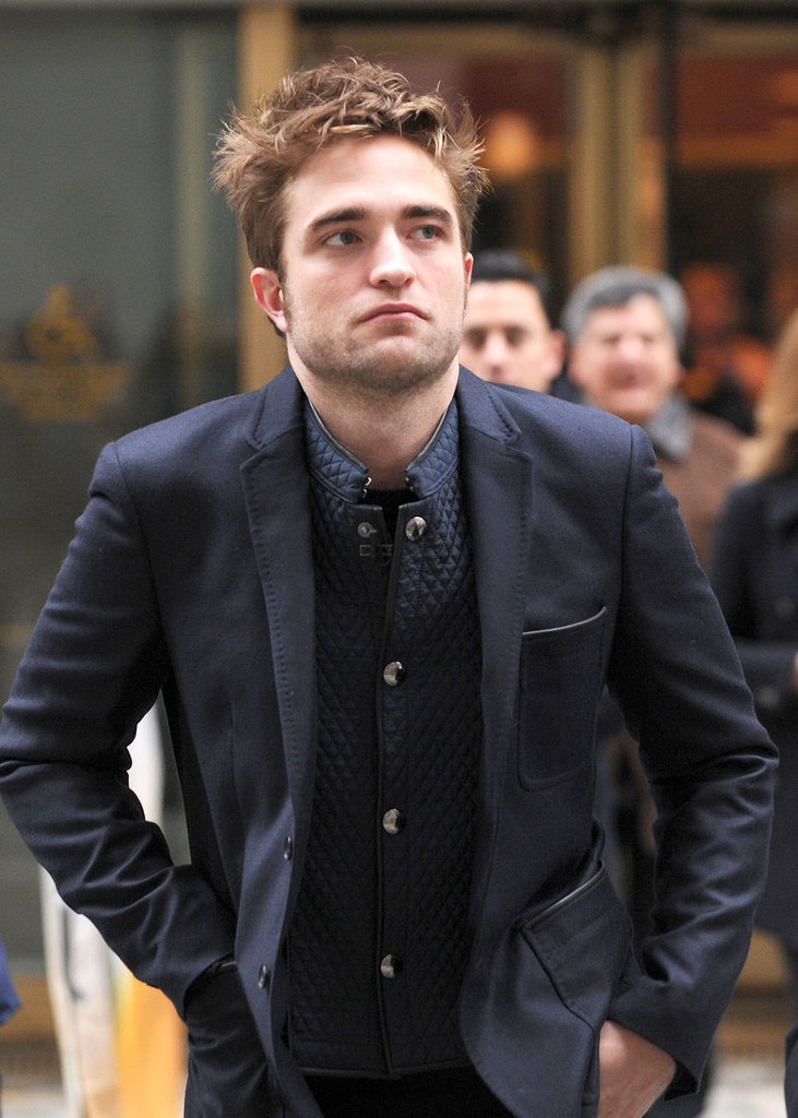 Robert Pattinson was on Today to promote his new movie Breaking Dawn —Part 2.