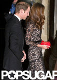 Kate Wears a Familiar Gown For a Special Evening With William
