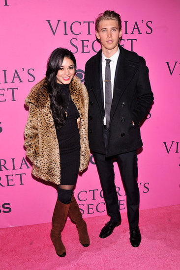 Austin Butler and Vanessa Hudgens attended the Victoria's Secret Fashion Show after party in NYC.