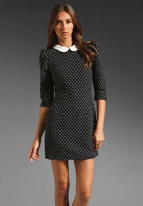 The polka-dot print makes this Dolce Vita Atheena Collared Dress ($132) even sweeter.