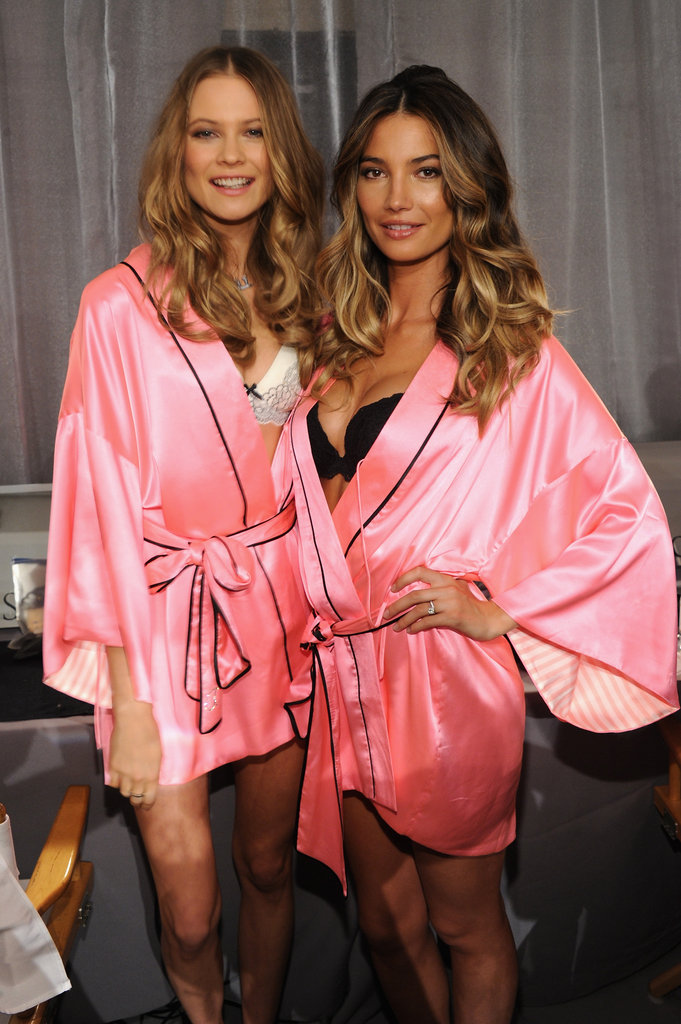 Behati Prinsloo and Lily Aldridge.