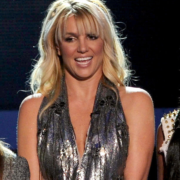 Britney Spears in Backless Shirt on The X Factor | Pictures