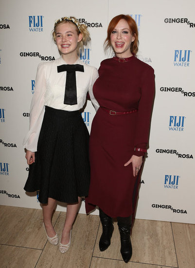 "Elle Fanning Recounts Meeting Angelina and Thinking ""She's Touching Me!"""