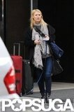 Pregnant Claire Danes Walks Her Dog in NYC