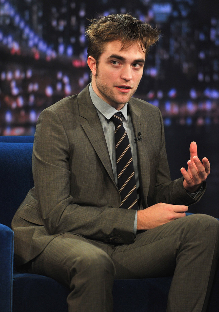 Robert Pattinson made an appearance on Late Night With Jimmy Fallon.