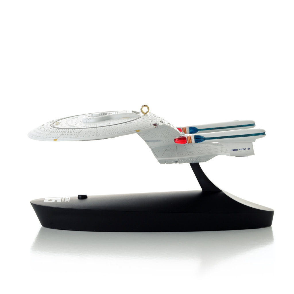 U.S.S. Enterprise plays Captain Picard's monologue and theme song from Star Trek: The Next Generation ($33).