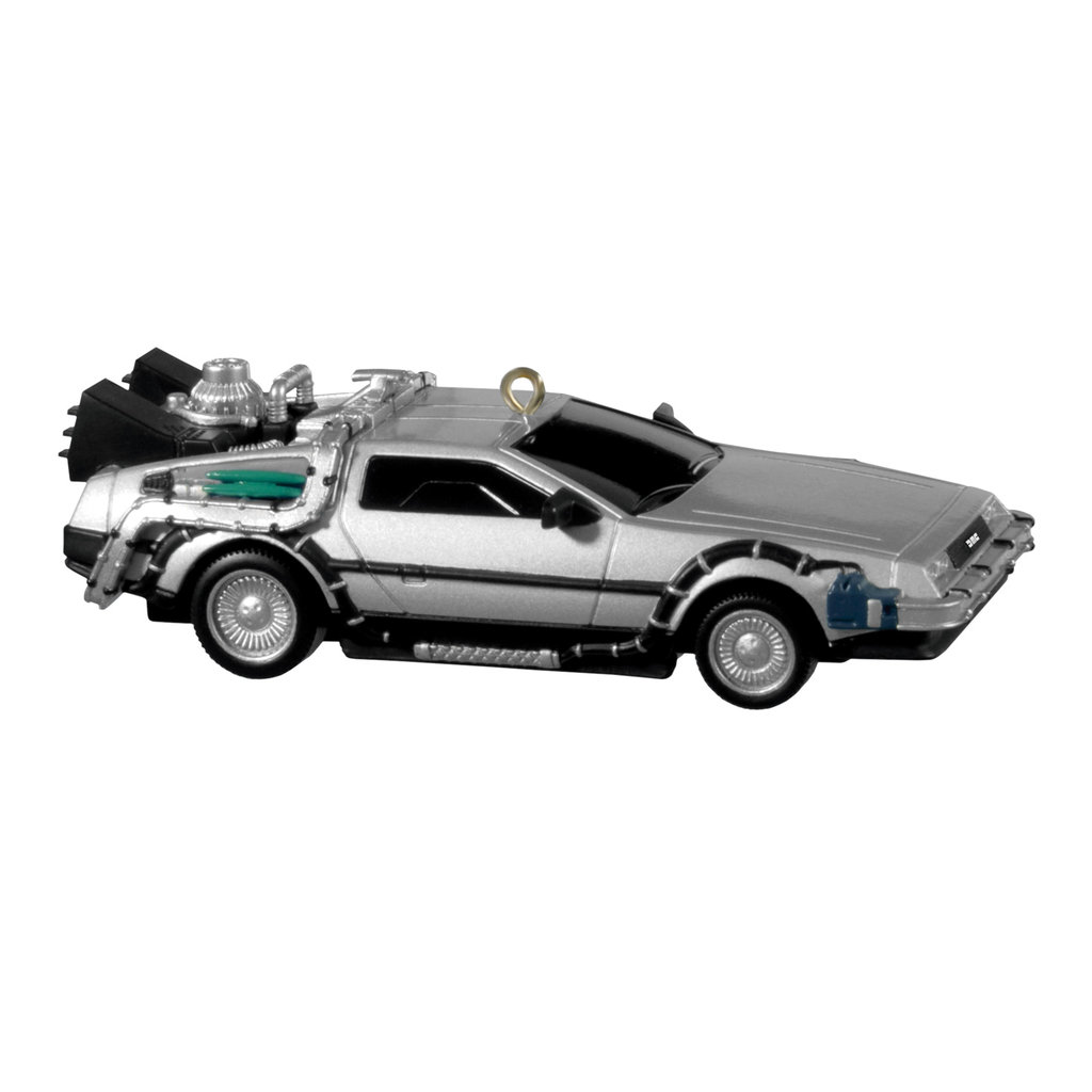 OUTATIME, the Back to the Future DeLorean ($18).