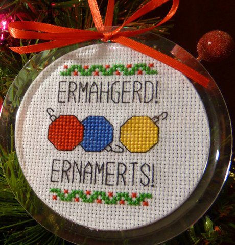 Ermahgerd, Ernaments! Kit ($12)