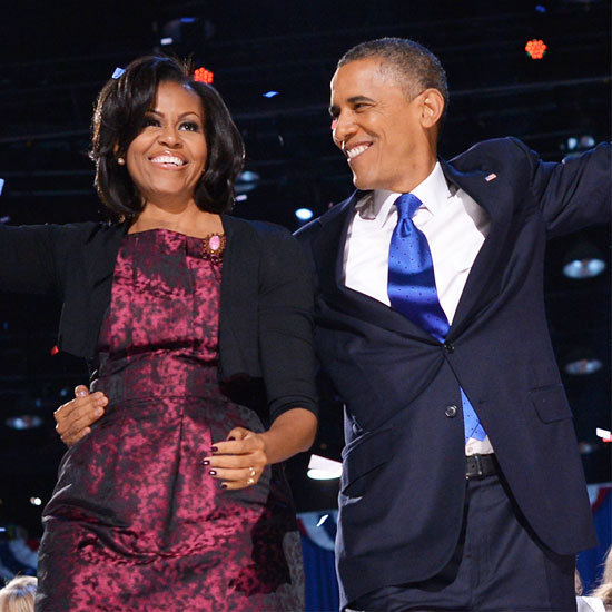 We wrapped up our style trail of Michelle Obama with her election-night Michael Kors dress.
