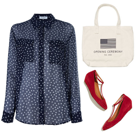 Show your patriotism with these red, white, and blue pieces for the election.
