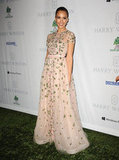 Jessica Alba lit up the Baby2Baby Gala in a princess-worthy Valentino confection.